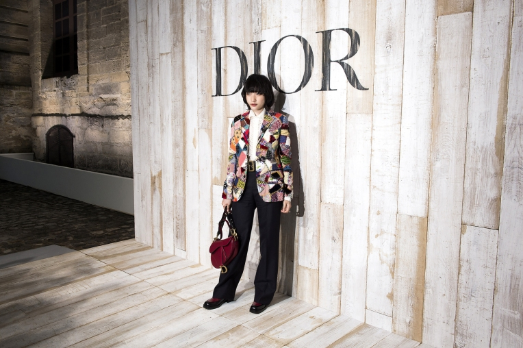 Hanna Chan Attends Christian Dior Couture S/S19 Cruise Collection